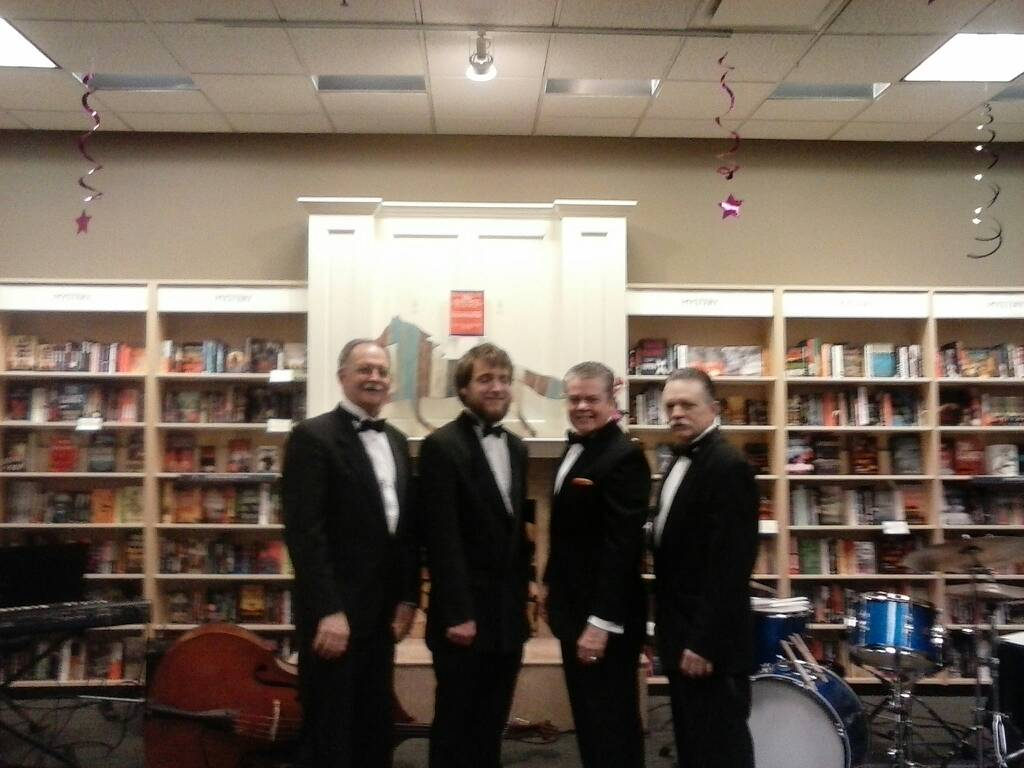 The Casino Players Trio at Jos Beth Books, 4-7-2016