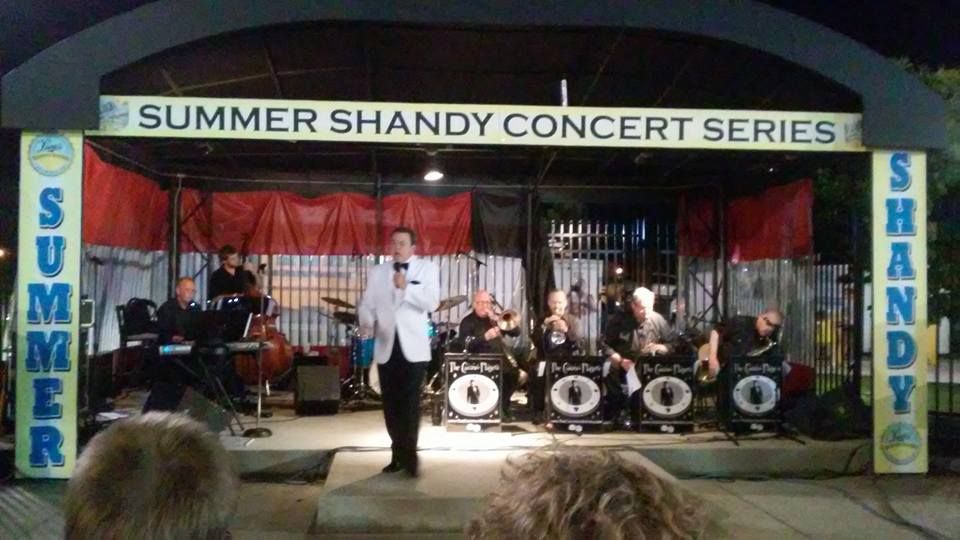 The Casino Players and Matt at The Shandy Summer Concert Stage for Autism Benefit