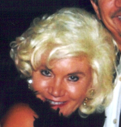 Patti as Marilyn at the Newport Syndicate