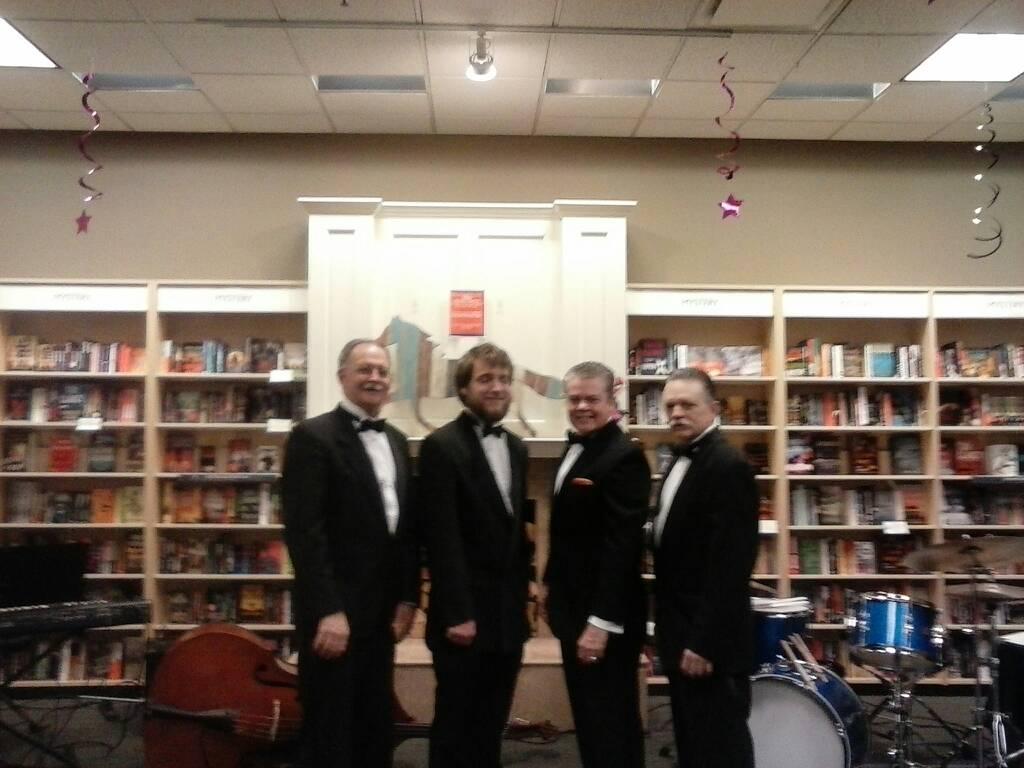 The Casino Players Trio at Jos Beth Books, 4-7-2016